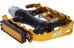 NC-17 Trekking Pro Pedal Alu schwarz/gold